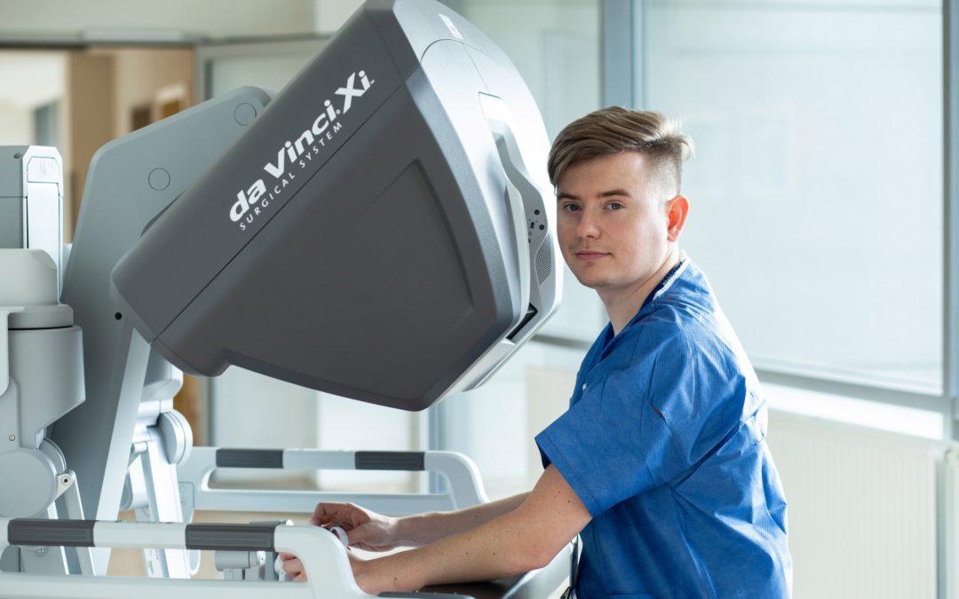 Ponad 120 operacji w pół roku – PCUR największym centrum robotycznym w Polsce